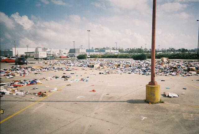 Devastation post-Katrina