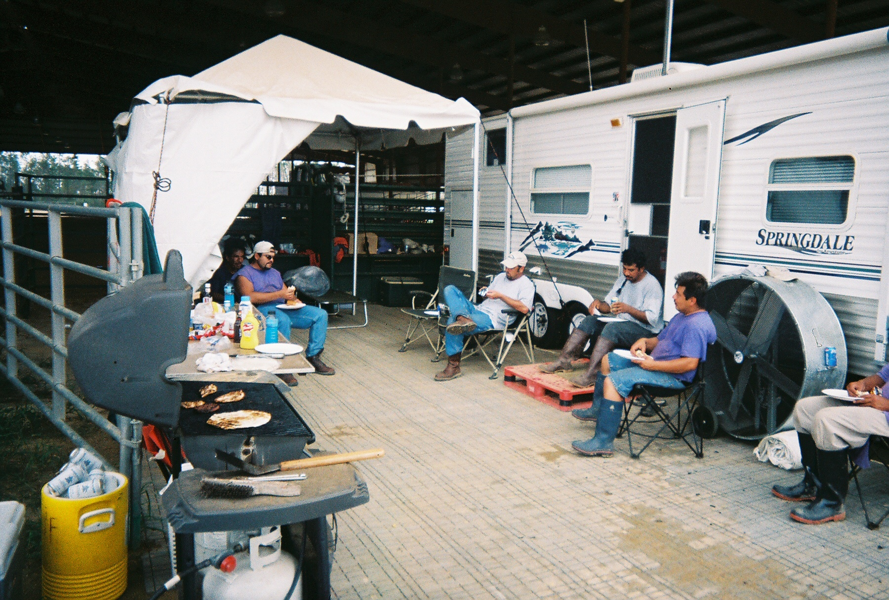disaster relief base camps
