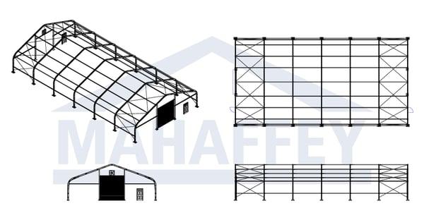temporary warehouse storage