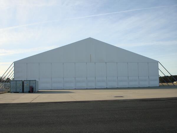 assembly line temporary building