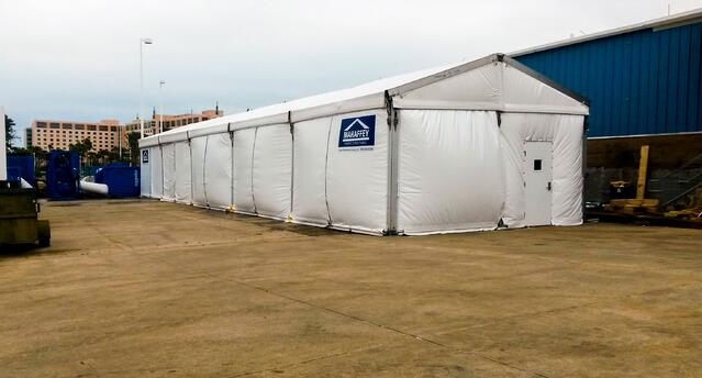 insulated tent structure