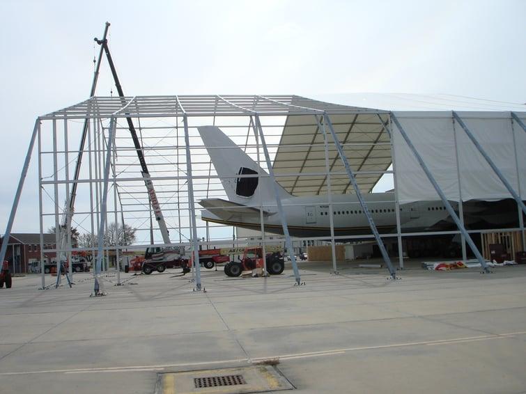 Temporary Hangar
