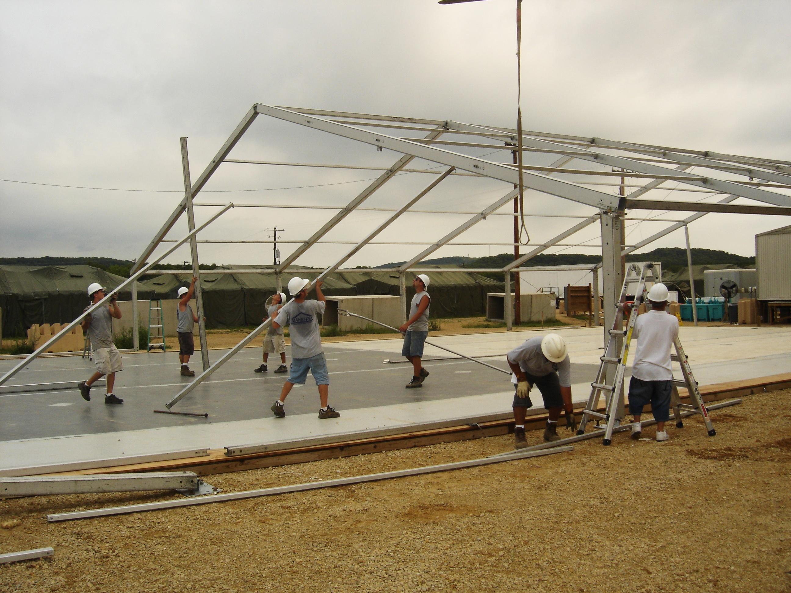 Fabric Structure Crew