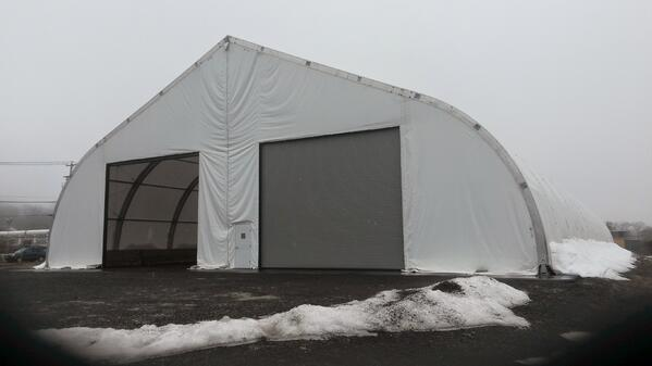 How to Prepare for Extreme Weather with Temporary Fabric Structures.