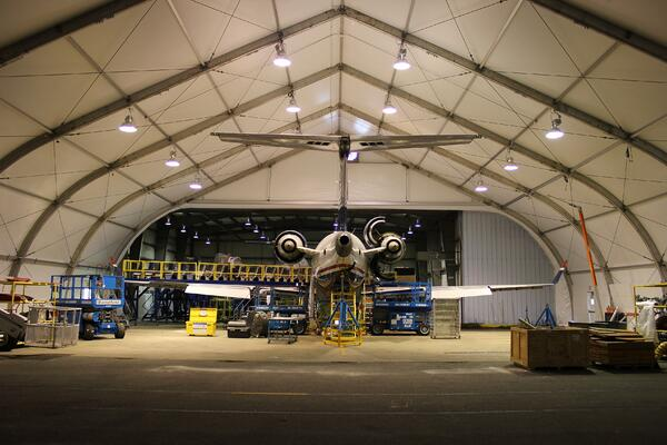 Temporary Structures: The Solution for Aircraft on the Ground