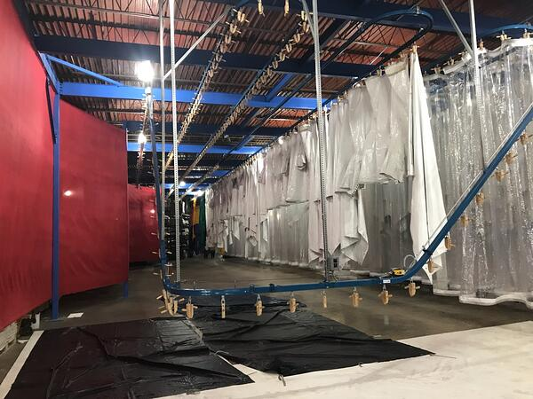 {Behind the Scenes} The Mahaffey Fabric Structures Drying System