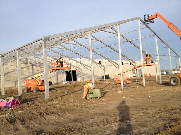 Factors to Consider When Installing Temporary Warehouse Structures