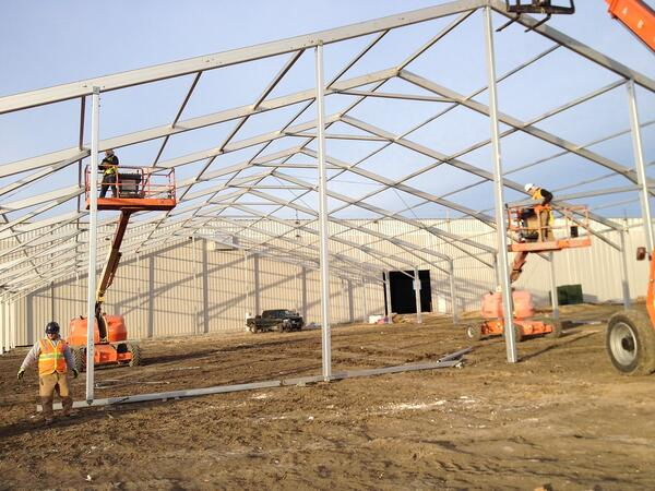 Setting a Good Foundation for your Temporary Fabric Structures