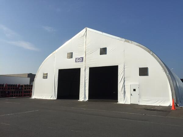 Three Advantages of Using a Clearspan Fabric Structure Leasing Entity