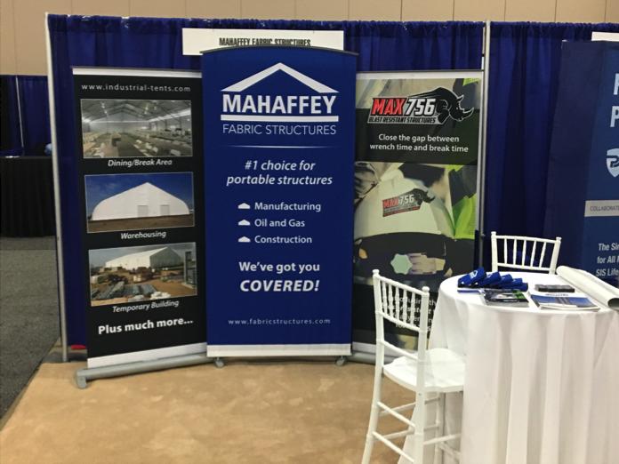 Mahaffey Fabric Structures Trade Show Event
