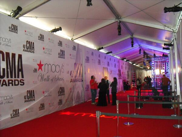 Clearspan Tents for Award Shows: 2015 CMA Awards Recap