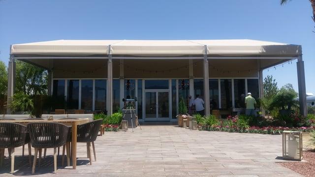 luxury outdoor building
