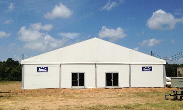 Mahaffey Temporary Fabric Structure