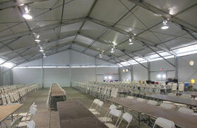 Lunch Tent Interior