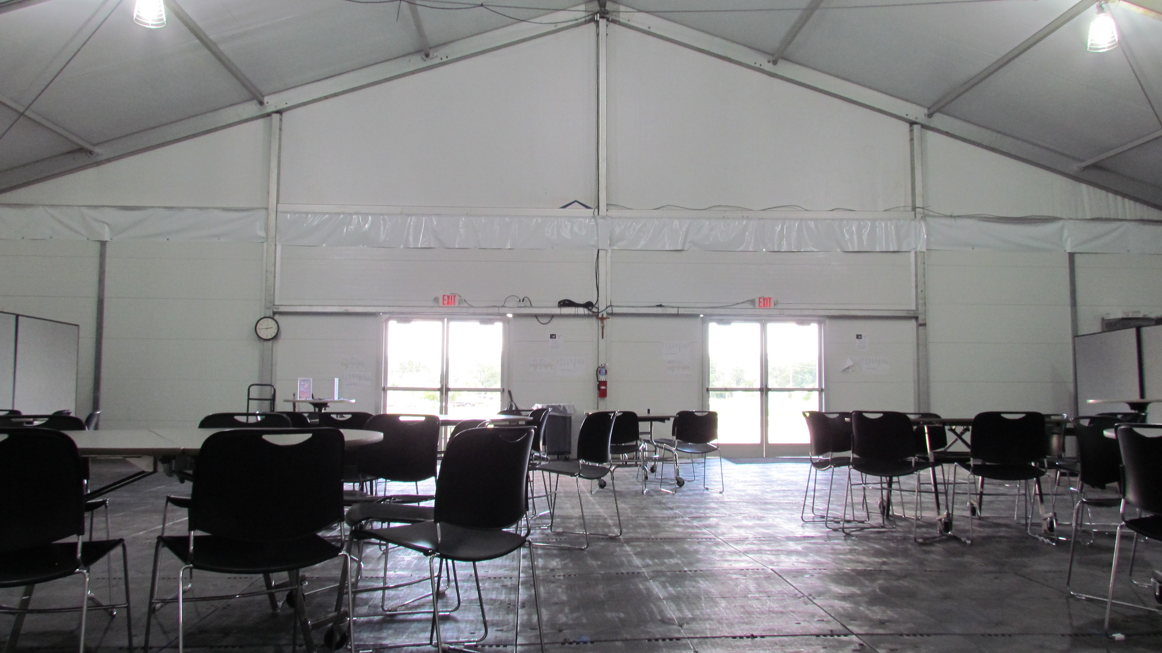 temporary lunch tent rental