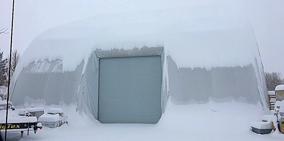 Temporary Structure in Snow