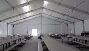 lunch tent