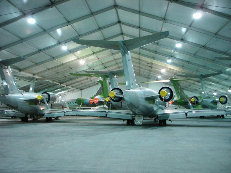 Temporary Hangar